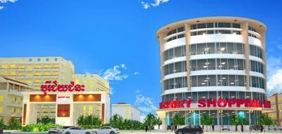 ショッピングセンターが多い