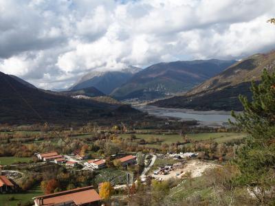 アブルッツォ州とモリーゼ州の旅 バッレーア(Barrea)