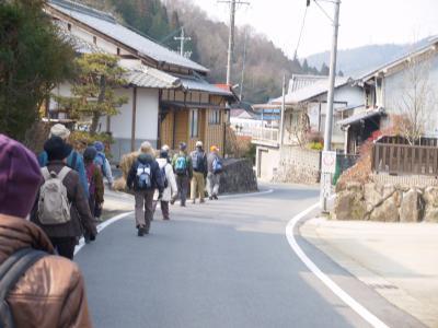 歴史街道を歩く会 2月例会  JR武並駅からJR釜戸駅まで   下(シタ)街道を歩く