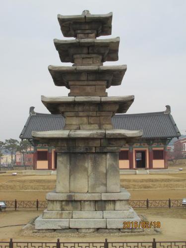 扶餘の定林寺址