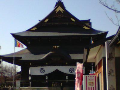 初めての「尾張 七福神めぐり」  善光寺と根福寺