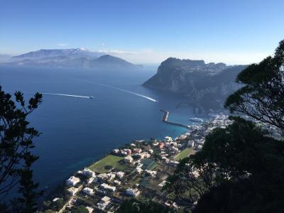 2016/01/10-02/12 自分の為のメモランダム:Itinerary1:Naples,Ischia,Capri,Rome,Frascati,Firenze