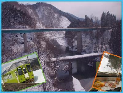 思いっきり雪景色を見た~い!!と諦めきれずに・・・角館へ ★秋田内陸縦貫鉄道に乗ってみよう!★