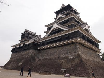 熊本(佐賀)長崎旅行 その1  熊本城、白川水源、阿蘇山、黒川温泉