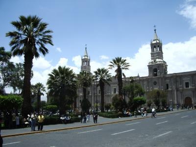 ペルー第二の都市アレキパ