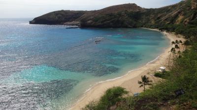 16年春節~オアフ島の旅◎03 ハナウマ・ベイ、サンディ・ビーチパークとマカプウ岬
