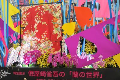 2016年2月 東京4日目 その3 世界らん展 花アーティスト四天王 イベント見学