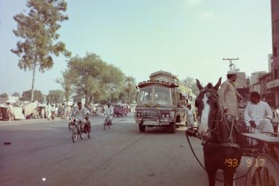 パキスタン  ラホール  突入   1993  ムスリムの危ない街