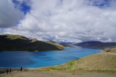 チベット(5)最終日 ヤムドク湖~空港