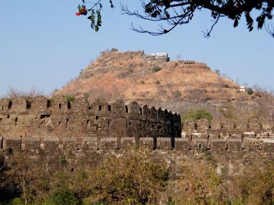 インド2016・・・(7)アウランガーバード デカン高原を見下ろすダウラターバード砦