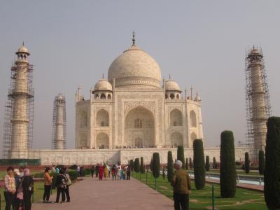 インド 「行った所・見た所」 アグラのタ-ジマハル散策