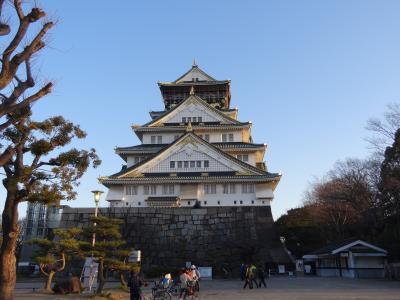 大阪城公園に行ってきました。