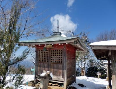 飯能・雪の関八州見晴台