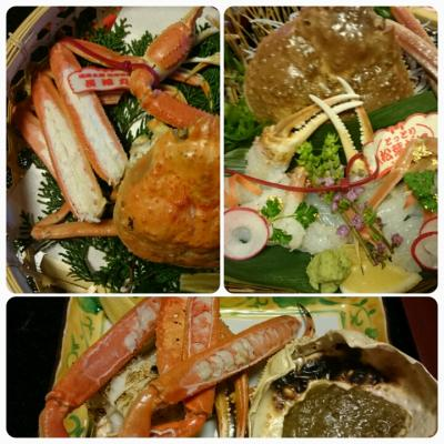 タグ付きの蟹が食べたい!3月20日までに行かなくちゃ(皆生温泉&境港)