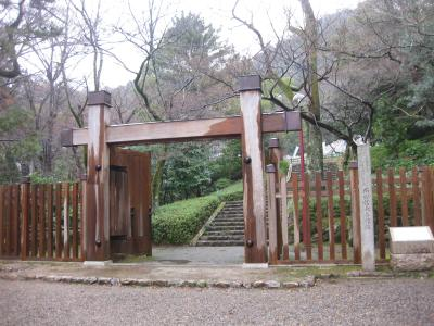 雨の岐阜城