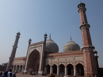 インド2016・・・(8)デリー  オールドデリーの賑わいとインド最大規模モスク「ジャマー・マスジット」