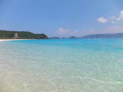 2015 FC琉球観戦遠征【第2弾】座間味の美しいビーチ堪能