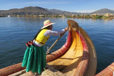 初南米ペルー、ボリビア2週間の旅。⑤ チチカカ湖ツアー