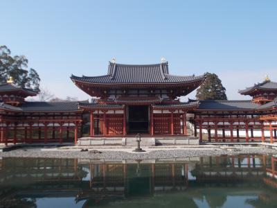 京都市内と宇治平等院を訪ねる