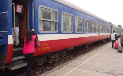 ベトナムは毎日どんより曇ってた その5 列車に乗ってハイフォンへ