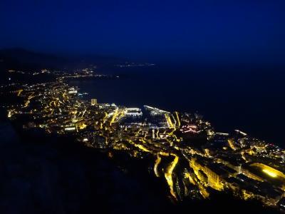 3連休でモナコ&仏伊(2) エズ~ラ・テュルビー~モナコをトレッキング&モナコの夜景観賞