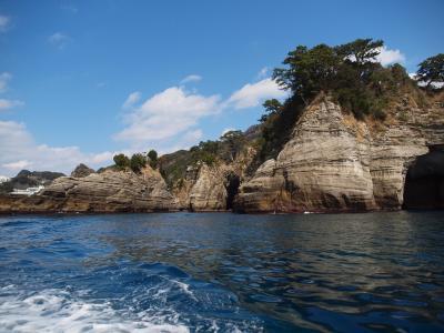 堂ヶ島 島めぐりコースで美しい景色を眺める 松崎町「民芸茶房」でたっぷり海鮮を楽しむ旅
