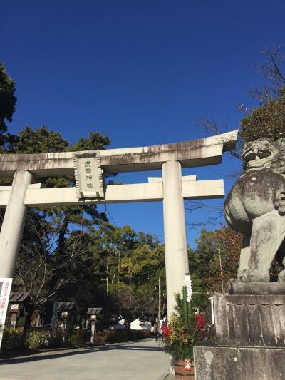 石和温泉・武田神社・昇仙峡へ家族旅