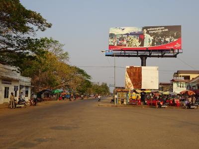 カンボジアの果てストウントウレンそしてラオスへ