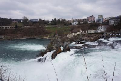 スイス・イタリアの旅 スイス編②  ラインの滝→シャフハウゼン