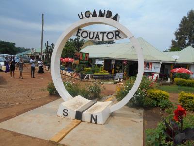 """弾丸ウガンダ1512  「南半球と北半球の境目 """"赤道(EQUATOR)""""に行ってみました。」   ~カンパラ近郊~"""