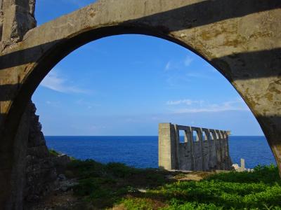 北大東島 ◇ 沖縄で一番早く朝日が昇る『うふあがり島 』 ~ 離島にローマ遺跡? & 驚きの大東ブルー!