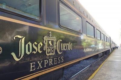 JoseCuervo社のテキーラエクスプレスに乗ってテキーラ村へ!