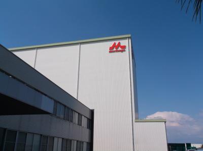 森永乳業中京工場の見学
