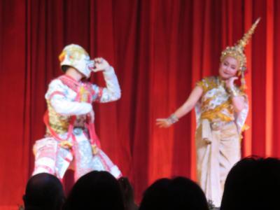 タイ 2泊5日間 ④ タイ古典舞踊ディナーショー