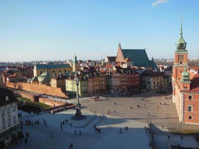 冬のワルシャワ旅~街とポーランド食器~その1