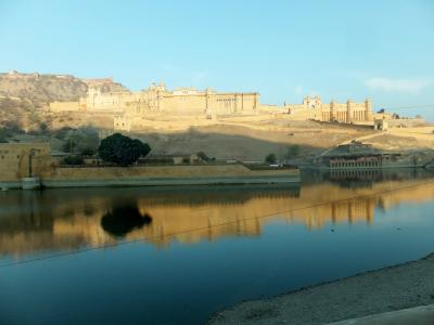 世界遺産アンベール城とジャンタル・マンタル(ジャイプール)
