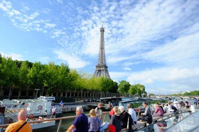 パリ滞在記 セーヌ川クルーズとポンピドゥーセンター
