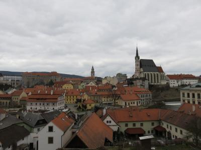 チェコとオーストリア7日間(ツアー1人参加)行って来ました。その③(3日目:チェスキー・クルムロフ自由散策)