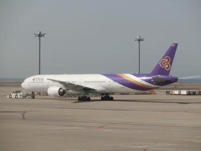タイ航空ビジネスクラス搭乗記(往路編)