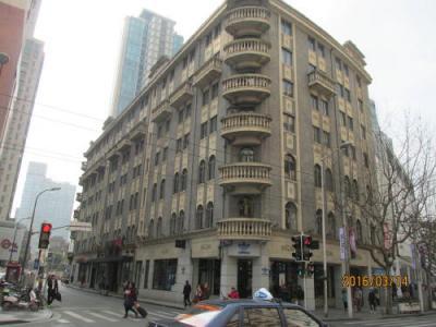 上海共同租界の南京西路・5次歴史建築