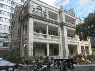 上海共同租界の威海路・5次歴史建築