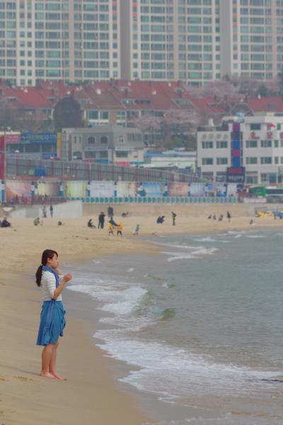 釜山2泊3日 vol.5 西面でミルミョン、そして海雲台でのんびりビール。