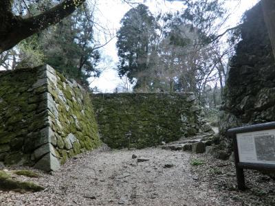 100名城を追う旅(近畿編その1) 日本三大山城 高取城