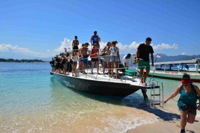 成人のお祝いに娘とバリ二人旅(第5日目初めてのバリ島 ギリトラワンガン島1日目)