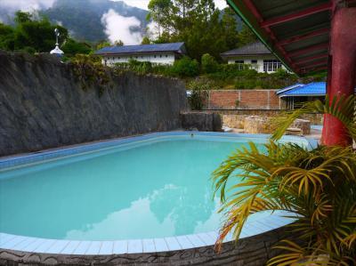 スマトラ島ゆっくり滞在2●ブラスタキの温泉と快適な宿