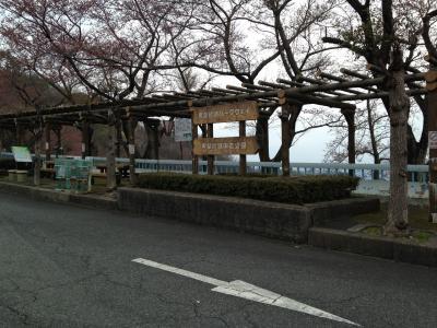 赤ちゃんと一緒に琵琶湖