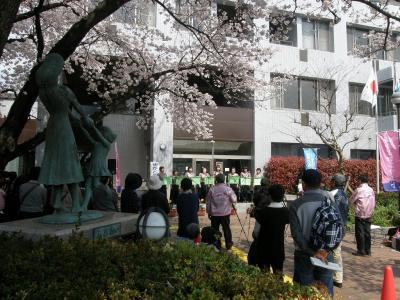 久喜市の第8回街かどコンサート♪に春風に乗って行ってきました。
