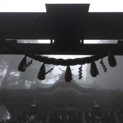 雨の奈良から始める神社巡りの旅③  玉置神社