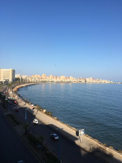 AA航空の特典航空券使って ビジネスクラスやけどバックパッカー・エジプト旅③ エジプト国鉄乗ってアレキサンドリアへ