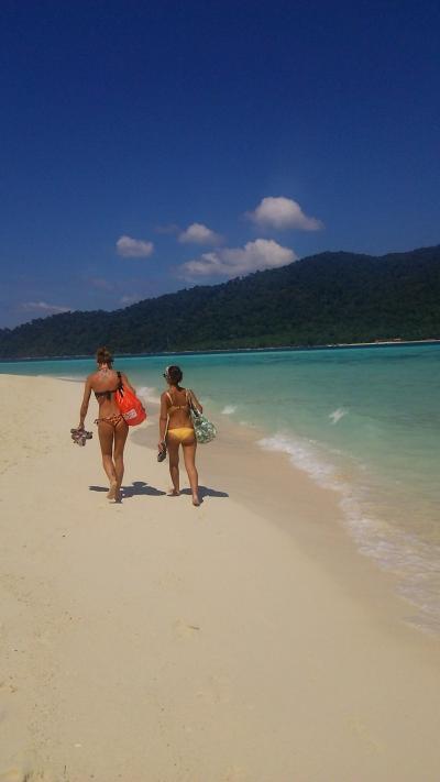 2ヶ月アジア放浪☆5日目もタイのリペ島